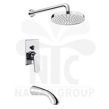 Nawar Group Italy Mixers KEVON Shower mixer